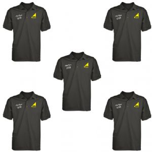 Embroidered Polo Shirts With Your Logo (5 Pack)
